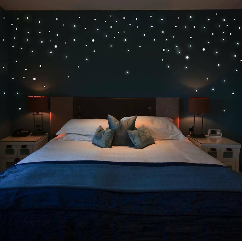 glow in the dark ceiling stars ideas - IMG WA000